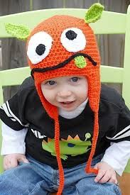 Image result for crocheted monster hat pattern free