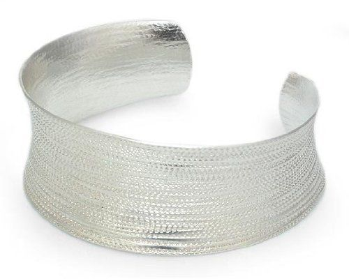 Sterling silver cuff bracelet, 'Hypnotic Thai' NOVICA. $119.95. Handmade by Achara.. A fair trade product. Normally ships directly from Thailand within 10 days.. Save 53% Off!