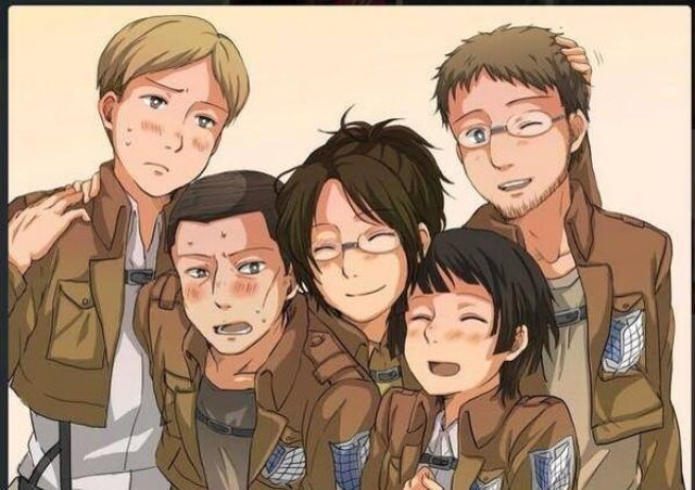 Hanji's squad