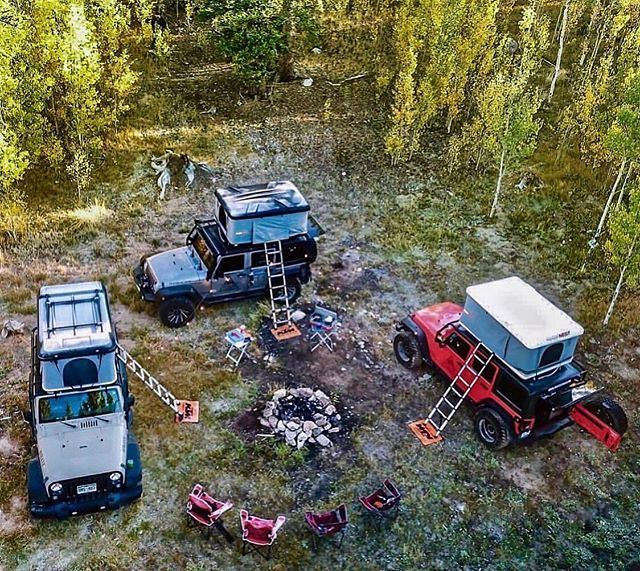 Overland Campsite in 2020   Jeep tj, Jeep life, Overlanding