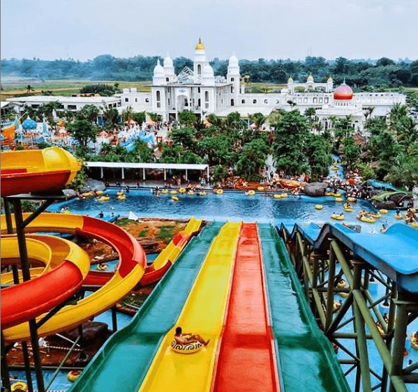 Wisata Jepara Ocean Park Waterpak Terlengkap Dijawa Tengah Gazebo Taman Pedesaan