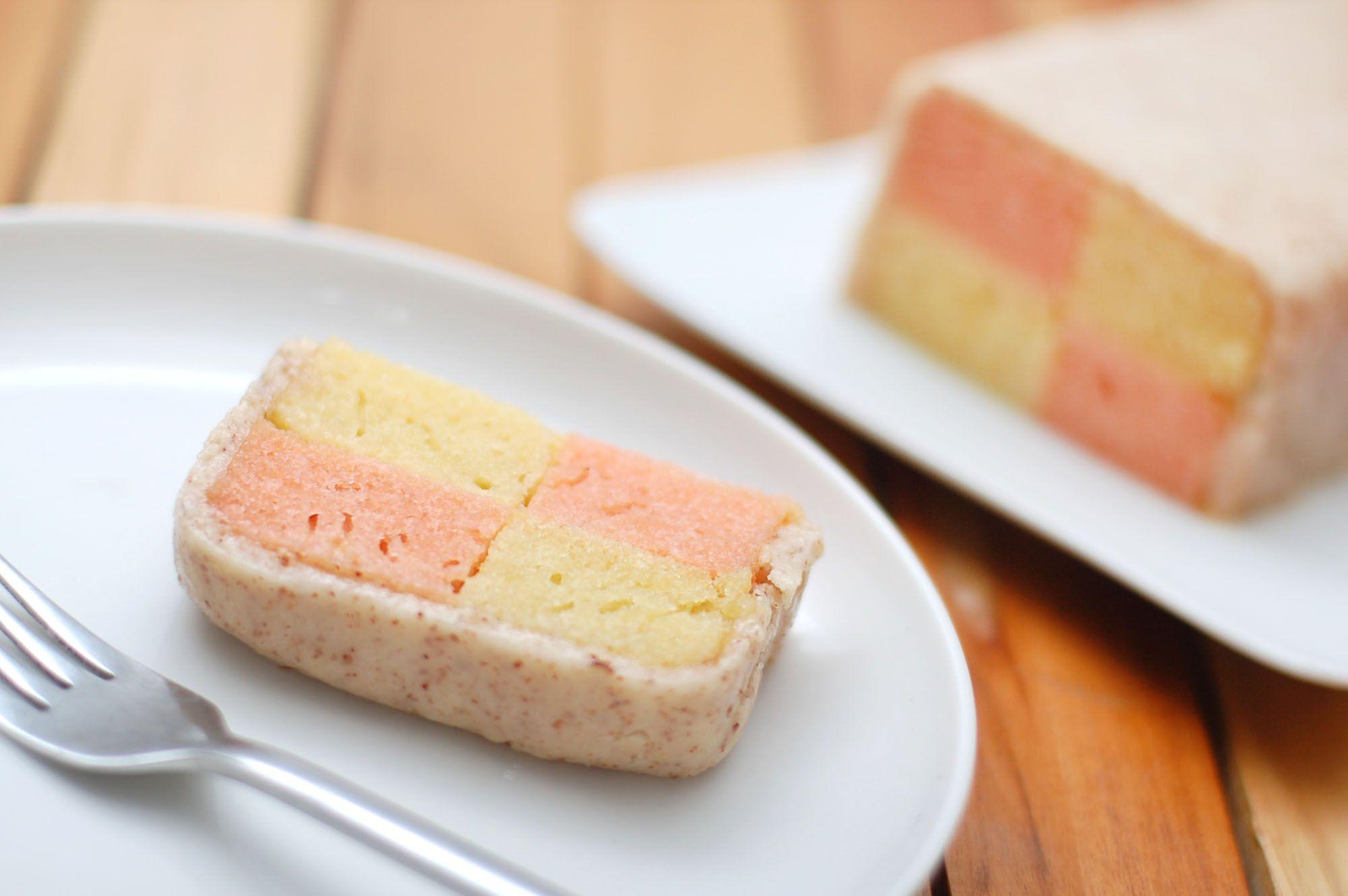 How To Make Battenburg Cake Recipe Food Yummy Checkered Cake