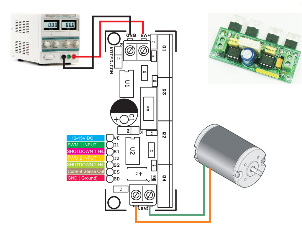 H Bridge Has Been Designed Around Ir2104 Ic From International Working Of Hybrid Cars Electronic Circuits And Diagramelectronics Rectifier The Board Made Mainly For Dc Motor Application