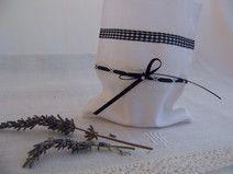 Geschenkbeutel Schmuckbeutel für Duftsäckchen weiß