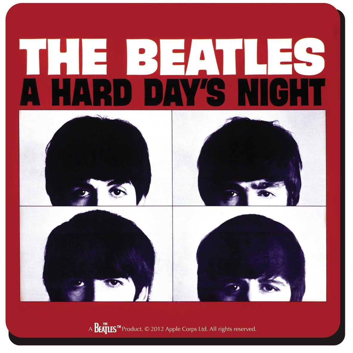 Beatles Hard Days Night Magazine | Item Details - Beatles (Hard Days Night USA) Single Coaster
