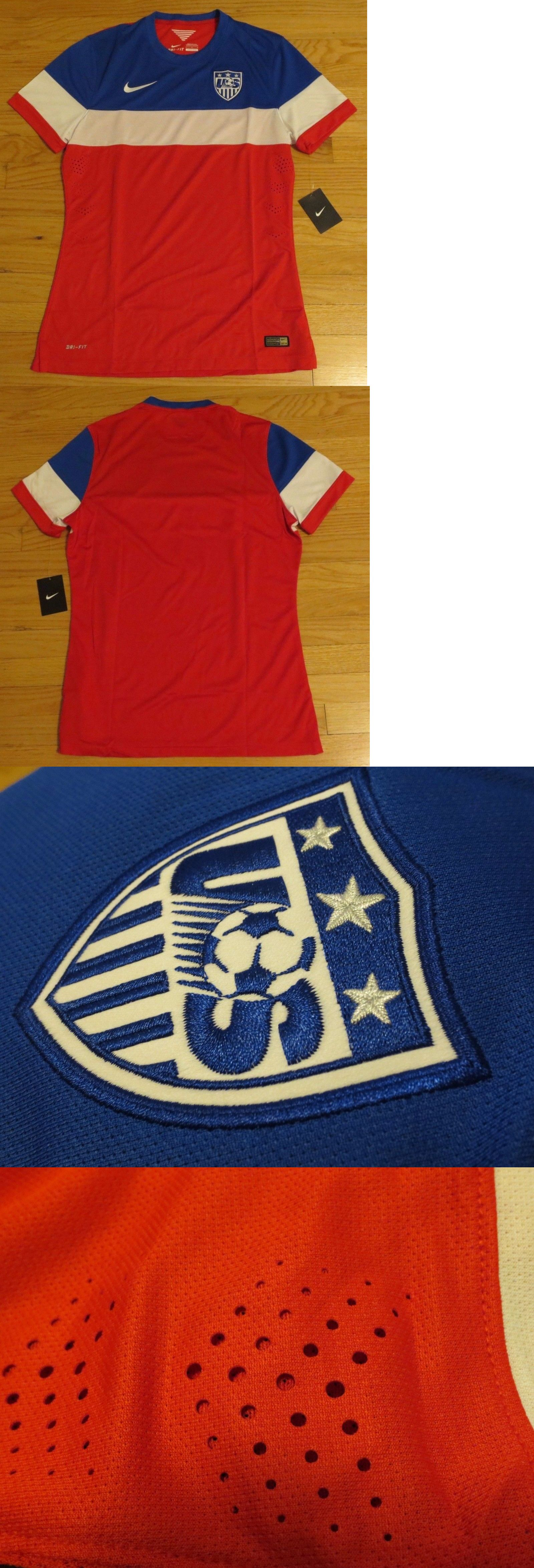 a50f996a3 Soccer-National Teams 2891  Nike 2014 Team Usa Soccer Jersey Large New  Authentic World