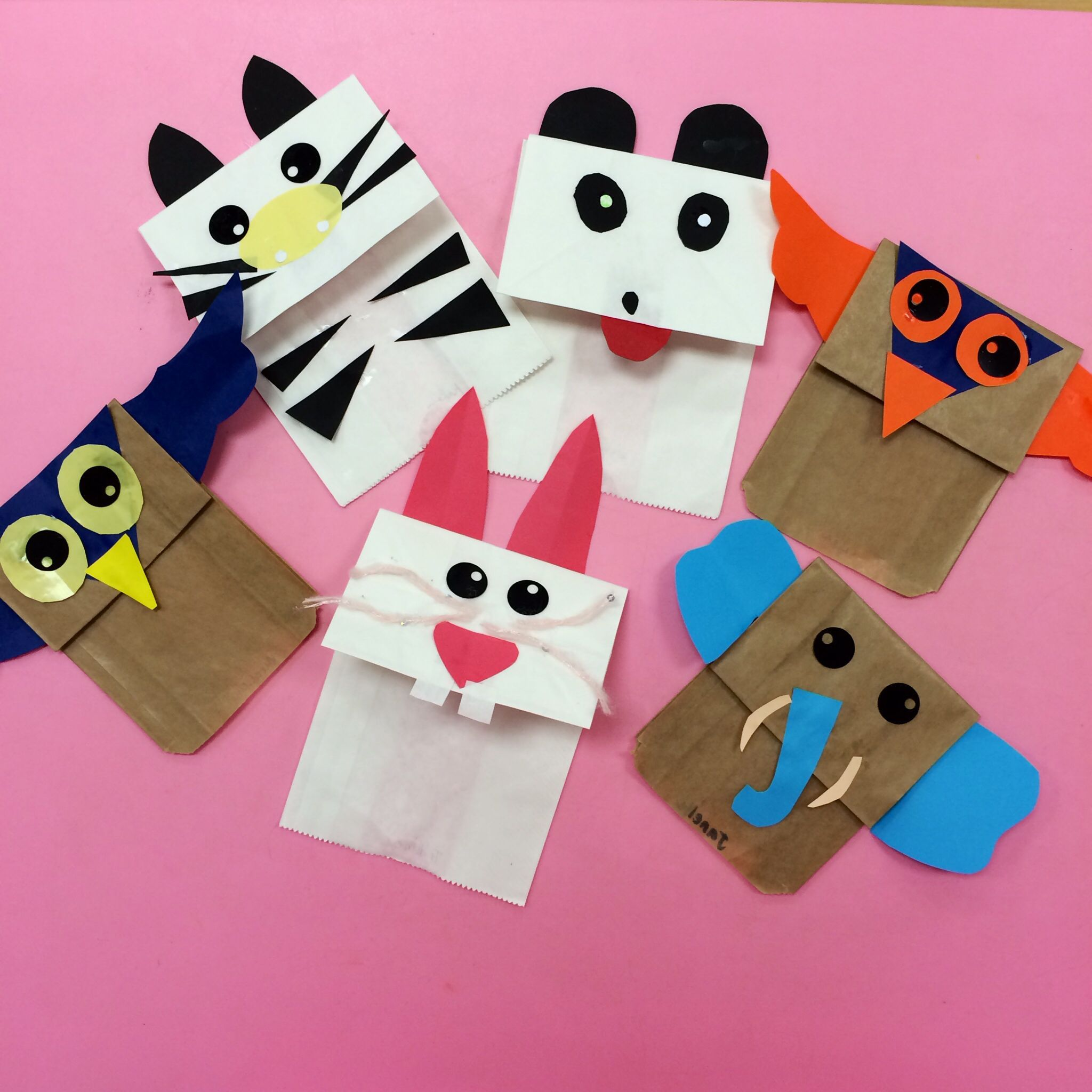 Image result for paper bag puppets jungle animals   Paintin\' Da ...