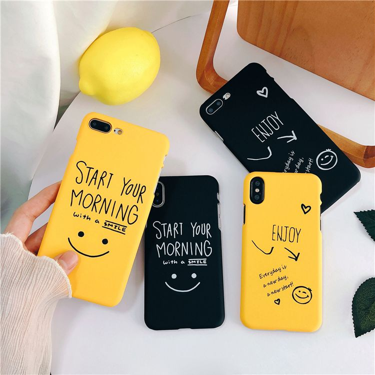 a434c301fe Cartoon Couples iPhone 8 Plus Case Letter 6S 7 8 Plus X Cover | Cute ...