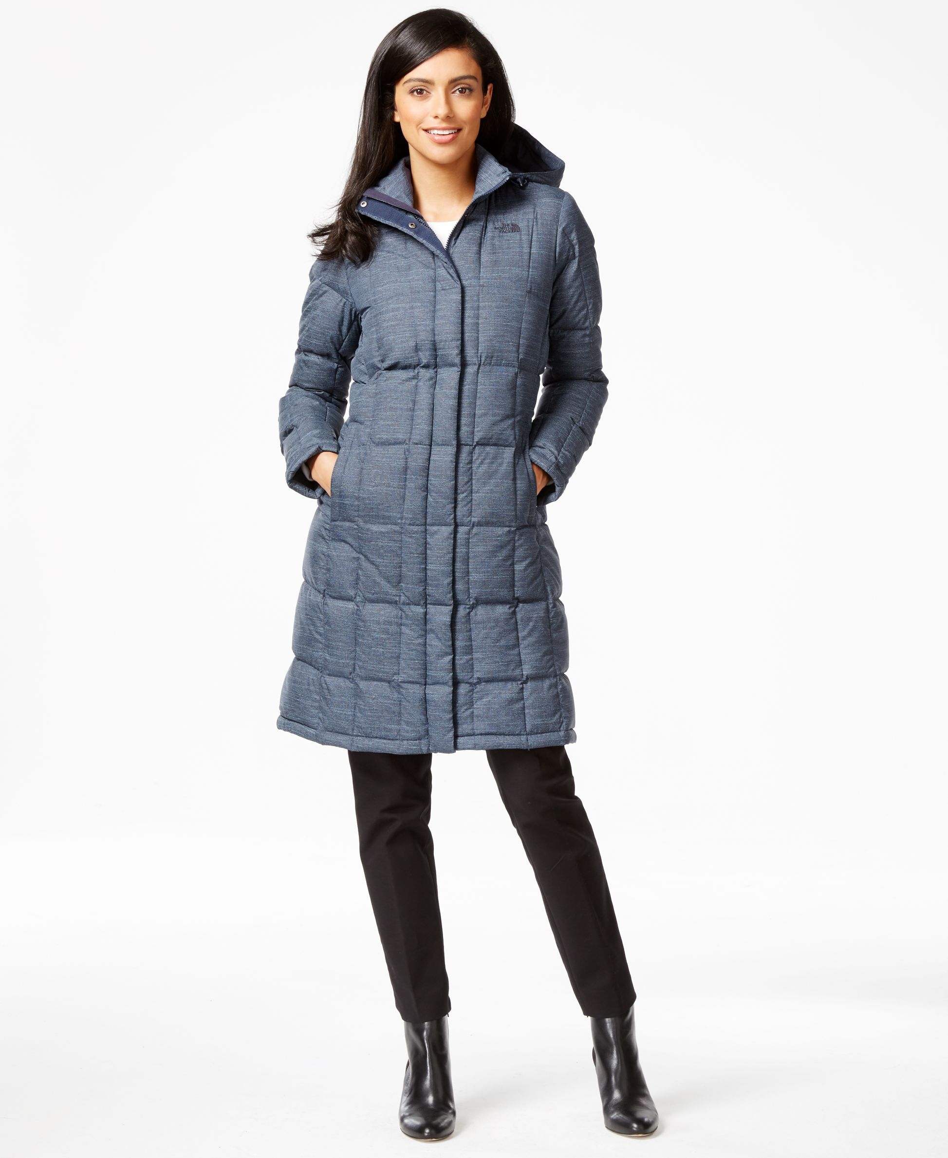 4665b1307a The North Face Miss Metro Down-Filled Parka - Jackets   Blazers - Women -  Macy s