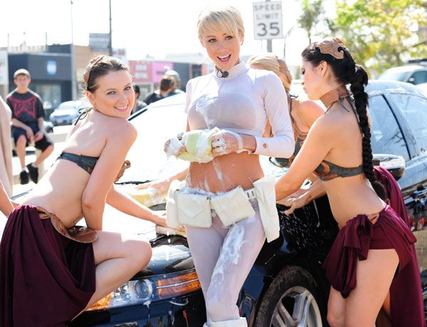 Make a wish bikini car wash