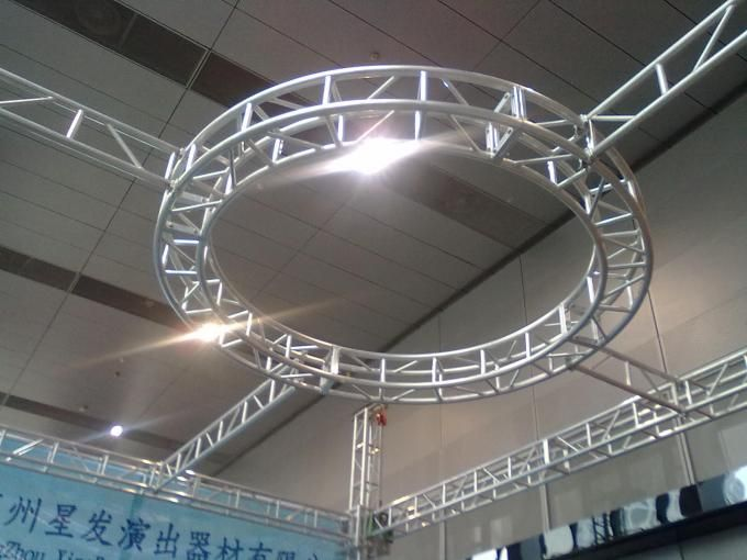 aluminum truss ceiling for interior lighting | Hexagonal