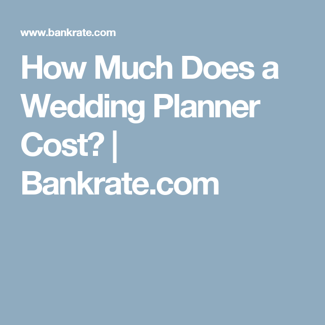 how much does a wedding planner cost wedding planners planners