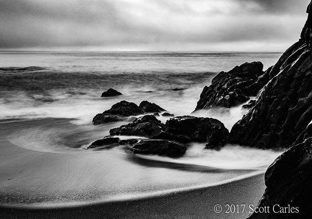 Davenport. No. 2. #bnw #landscape #blackandwhite #bnwlandscape #monochrome #davenport #ocean #sea  #clouds #ocean #sea #centralcoast #california #montereybay #santacruz #bnwminimalismmag #only_bnw_nature #bnw_focus_on #montereybaylocals - posted by Scott C https://www.instagram.com/secarles - See more of Monterey Bay at http://montereybaylocals.com