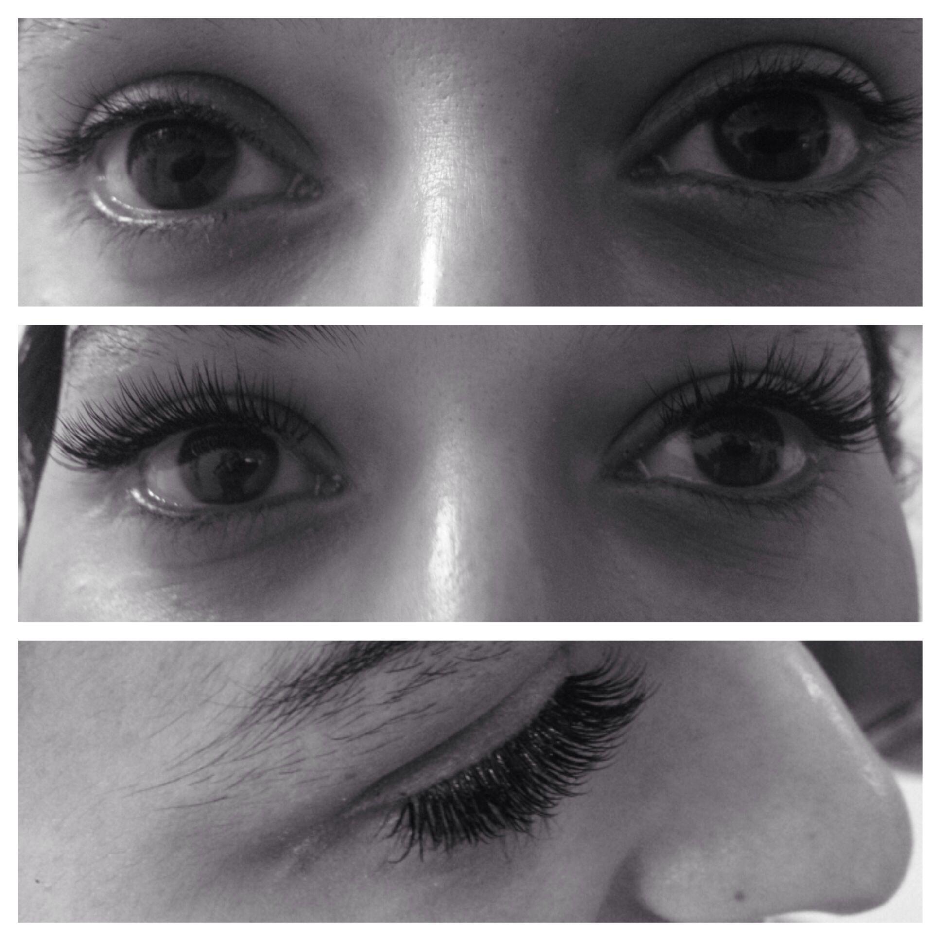 Volumed Diva Lash Extensions with a medium length . | Full thick 2 ...