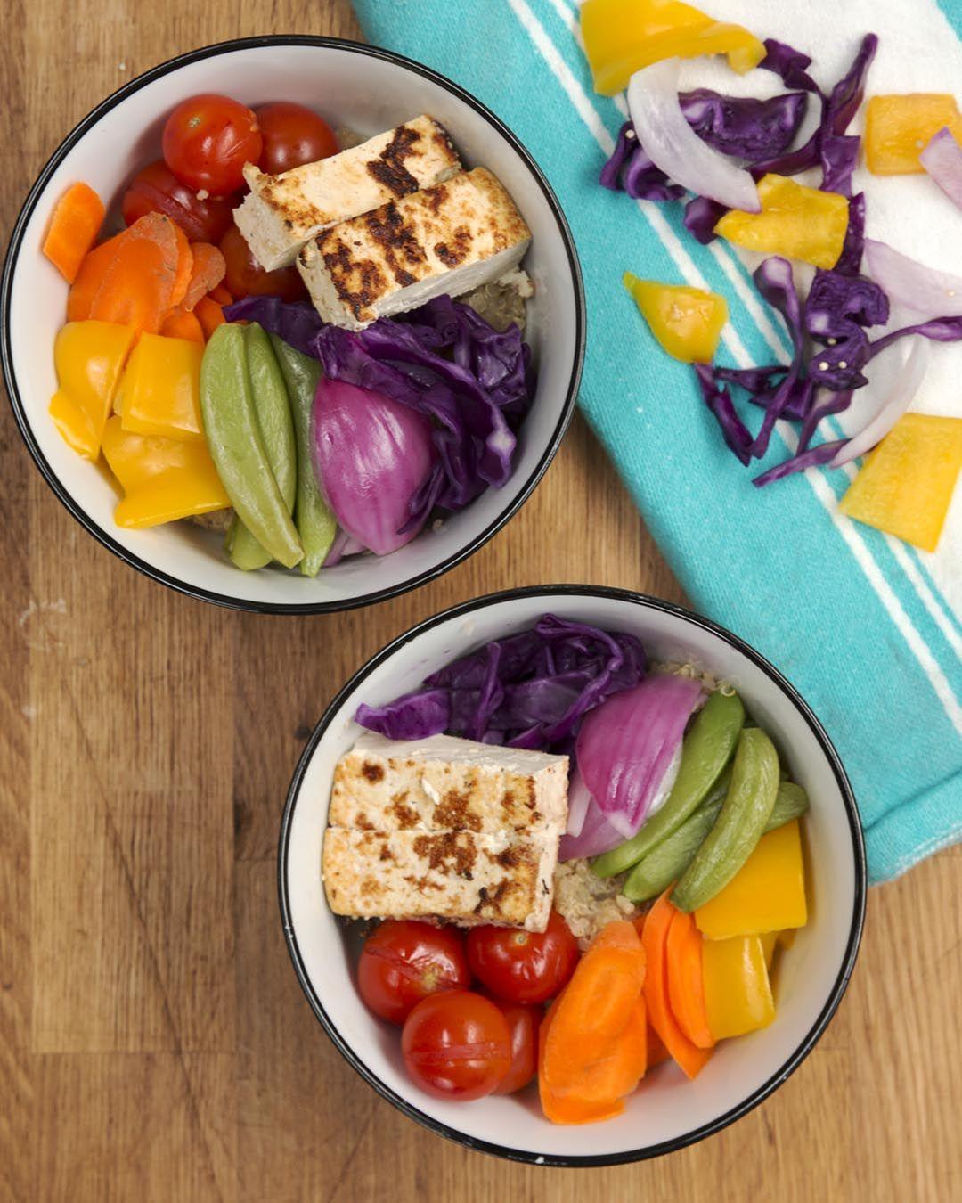 Nourishing Rainbow Protein Pot