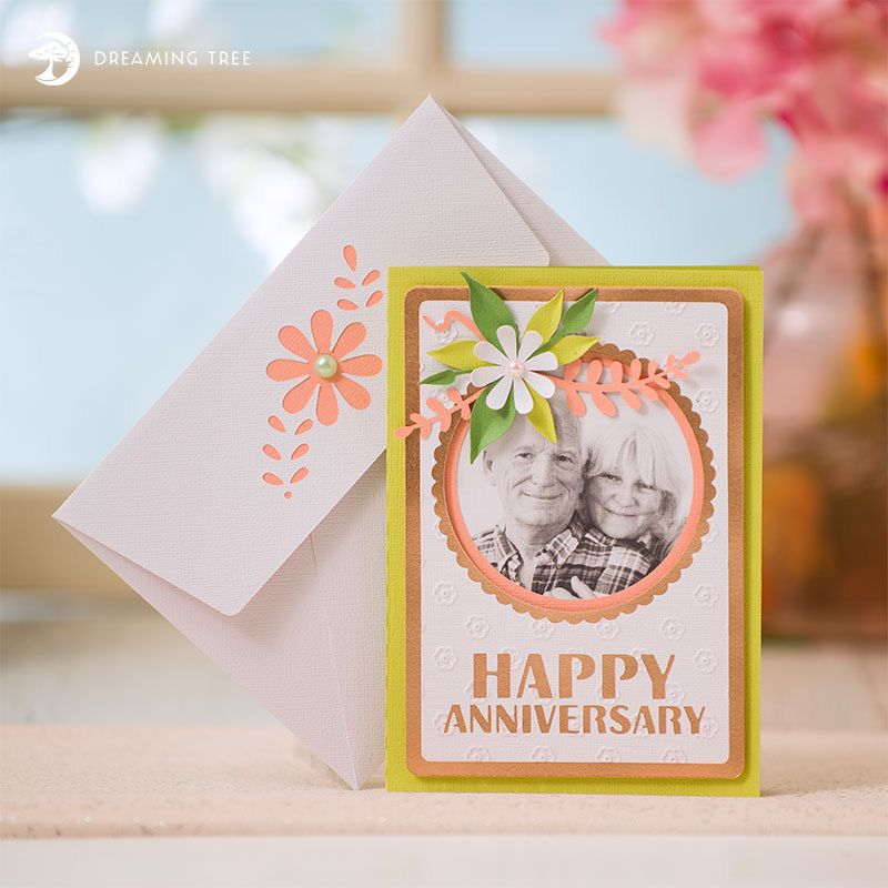 Anniversary Card Svg Dreaming Tree Anniversary Cards Happy Anniversary Cards Gatefold Cards
