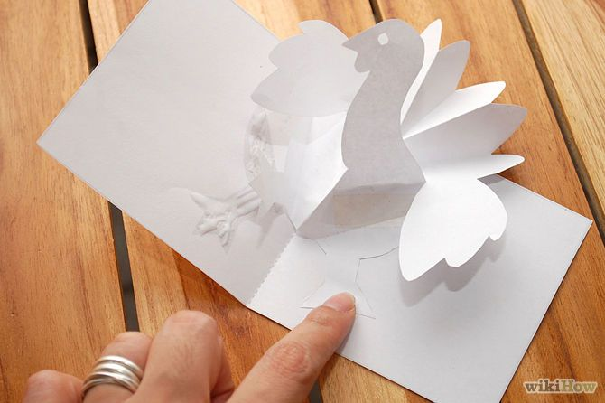 How To Make A Turkey Pop Up Card Robert Sabuda Method Pop Up Card Templates Pop Out Cards Pop Up Cards