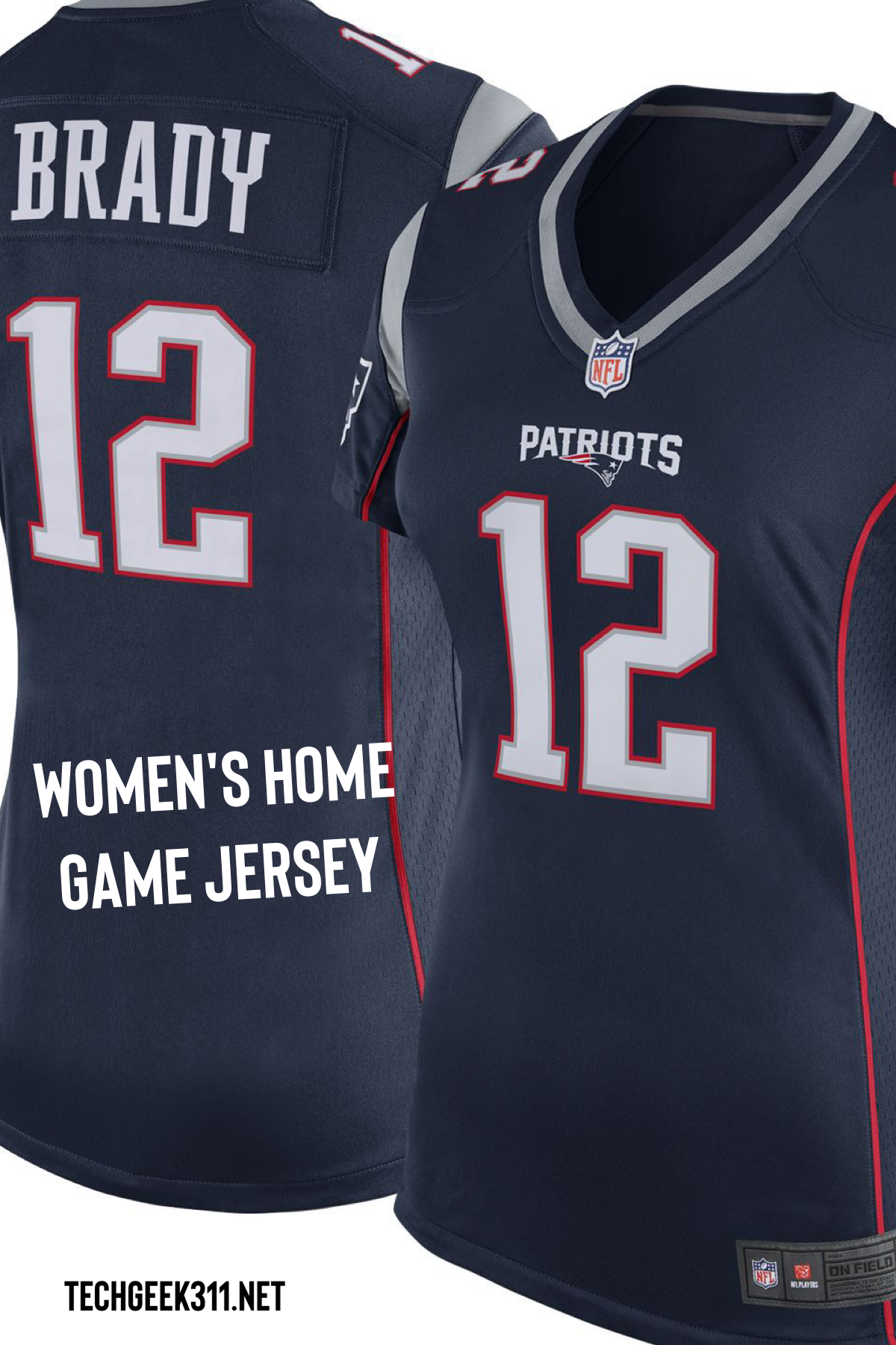 Nike Women S Home Game Jersey New England Patriots Tom Brady 12 Bring Your Fandom To The Forefront This Season In The Stylish Nike N Nike Women Super Bowl Style Guides