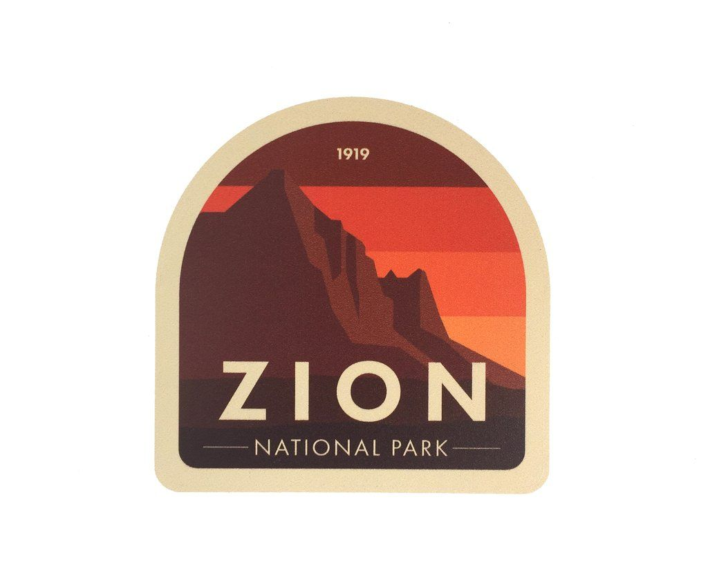 National Park Stickers 3, 6 & 10 Pack Mix & Match