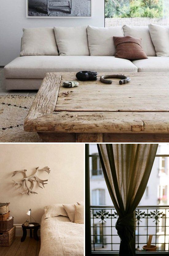Gorgeous crème - Get the Look of Linen Interiors for Fall