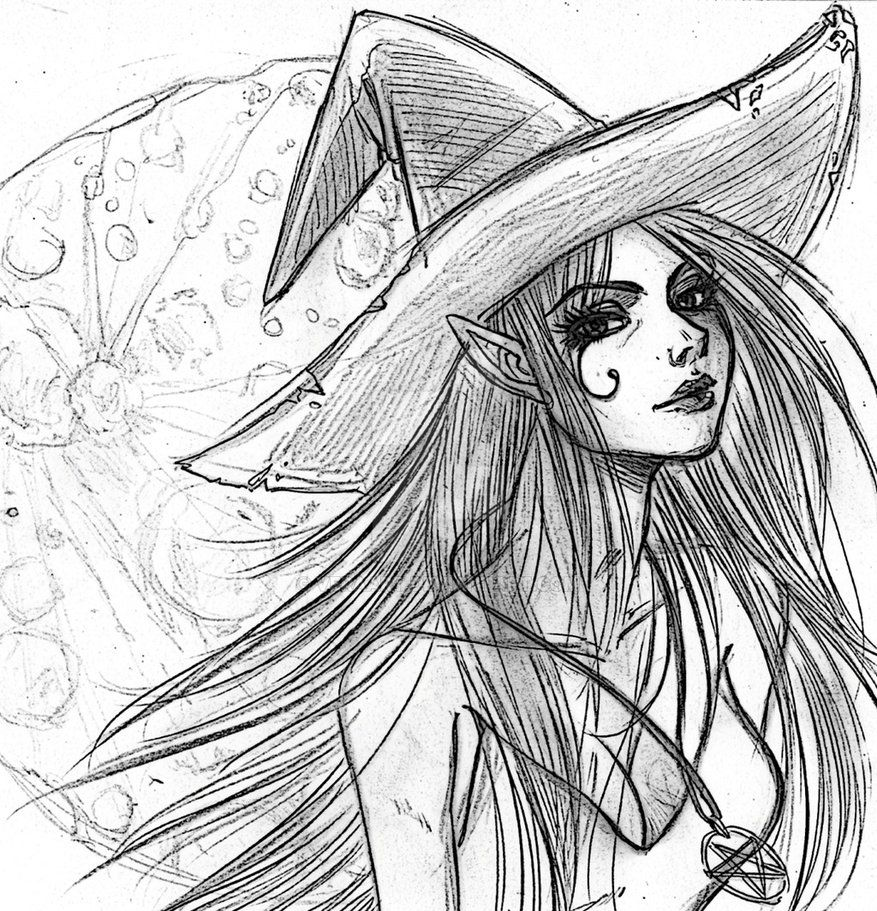 Sexy Witch by VeraArt