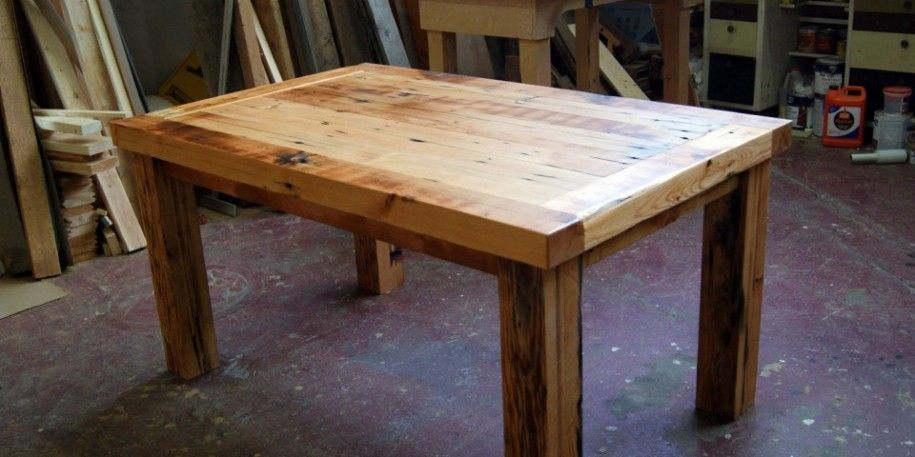 Gorgeous Reclaimed Wood Dining Table Design For Our Dining Room