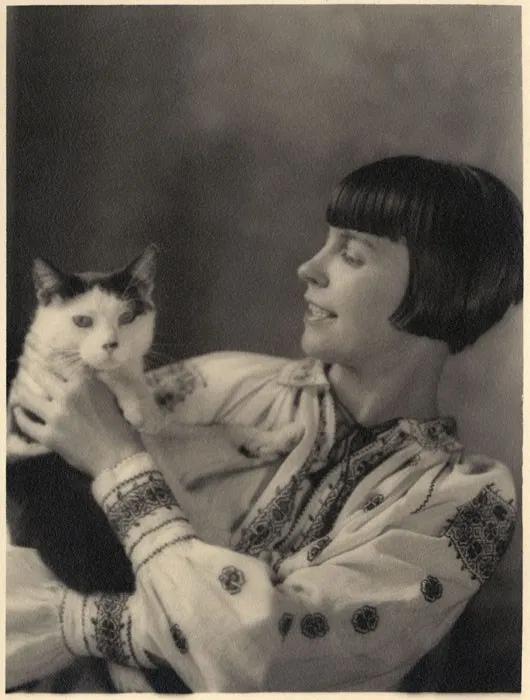 Wanda Gag 1893 1946 American Amour De Chat Chats Et Chatons