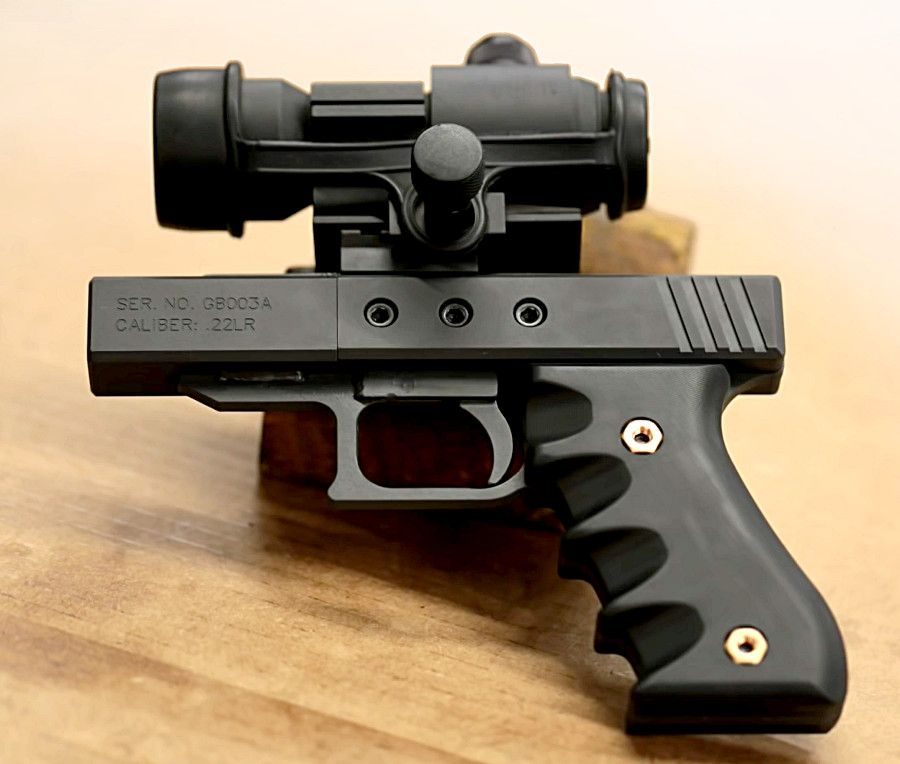 Mark serbu is gauging interest on an extremely simple homemade mark serbu is gauging interest on an extremely simple homemade single shot rimfire pistol kit diyweapon solutioingenieria Gallery