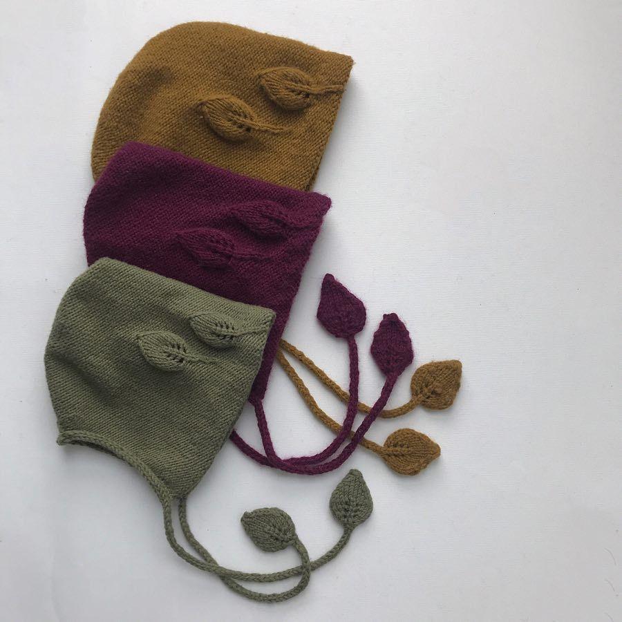 7e81f0d8d93 Møter våren med høstfarger 🌱🍃 luetilhøsten  bonnetforautumn Baby Hats