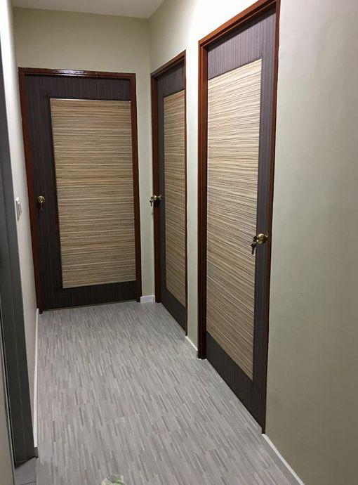 Door Factory Selling Fire Rated HDB Door And Veneer Bedroom Door At Factory  Price In Singapore
