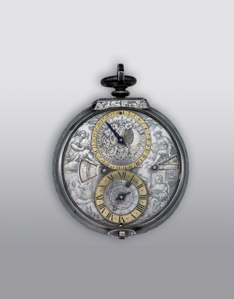 Astronomische Kutschenuhr Mit Ubergehause Uhren Antike Uhren