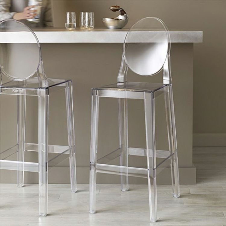 Unique Ghost Chair Bar Stools