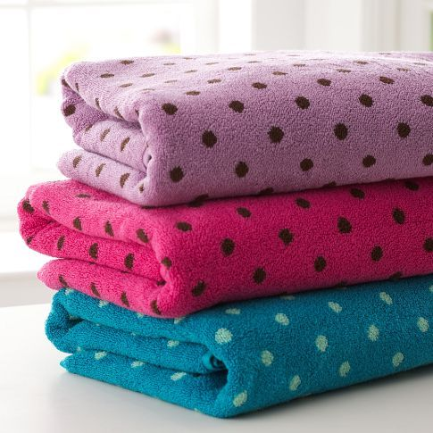Very best polka dot towels | Bed & Bath | Pinterest | Towels, Dot dot and  VB51