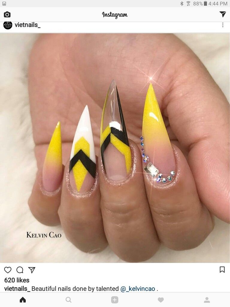 This nail art design is everthing! Ideas de unas , stiletto nails - SIMPLY WOW! This Nail Art Design Is Everthing! Ideas De Unas