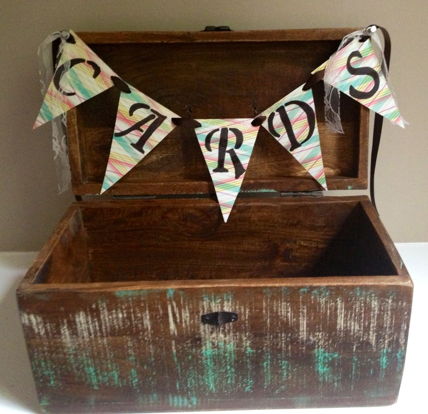 Diy card box graduation open houses diy card box