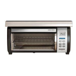 Amazon Com Black Decker Tros1000 Spacemaker Digital Toaster Oven Stainless Steel Under Cabinet Toaster Oven Under Counter Toaster Oven Digital Toaster Oven