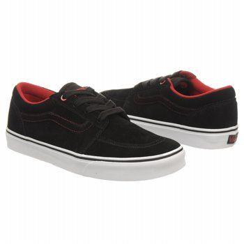 7106ffe007c56c Vans COLLINS Shoes (Black White Red) - Men s Shoes - 10.0 M