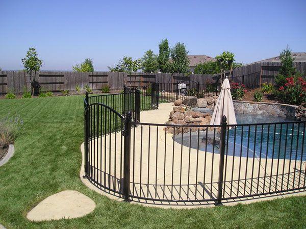 Wrought Iron Fence Wrought Iron Fence Sunnyvale Pool Fence