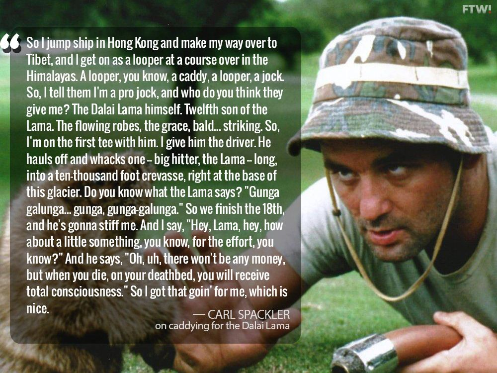 caddyshack Caddyshack quotes, Best sports quotes, Movie