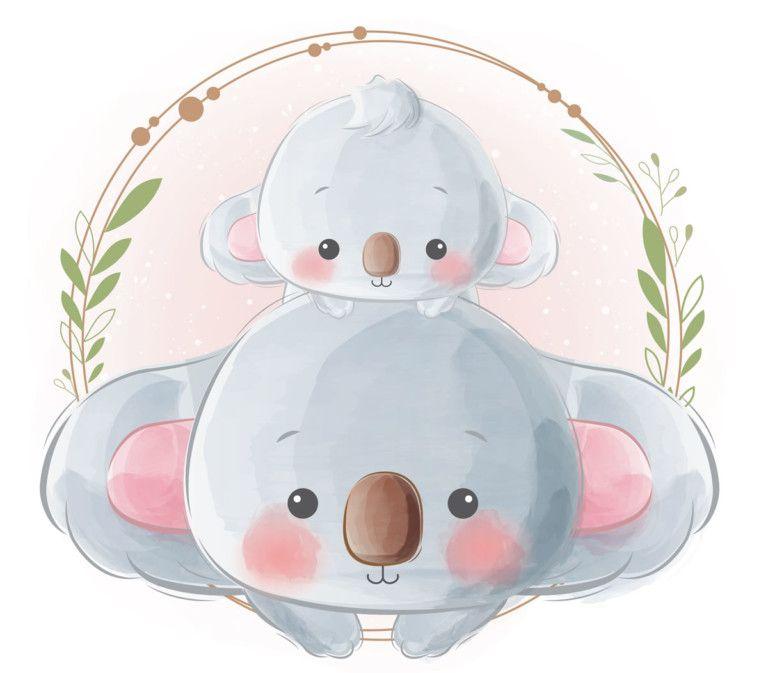 Cuentos Infantiles El Koala Que Salvo Al Bosque Dibujos De Animales Tiernos Dibujo Animales Infantiles Dibujos Bonitos De Animales