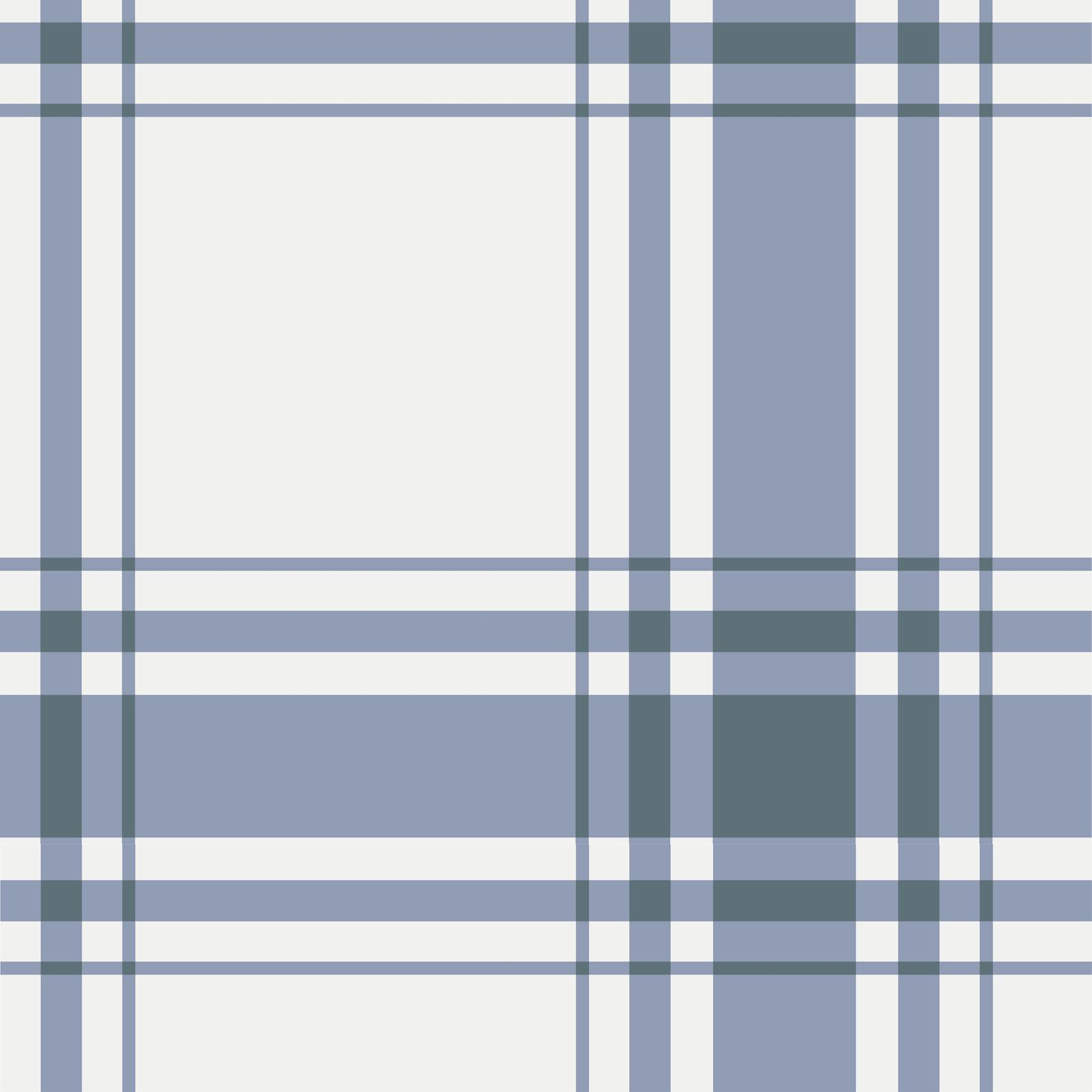 Oxford Plaid Wallpaper in Periwinkle Brooke & Lou