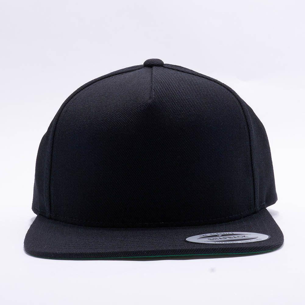 new arrival 339b8 88058 ... aliexpress wholesale flexfit yupoong 5089m premium classic 5 panel  snapback hat black 13c38 89115