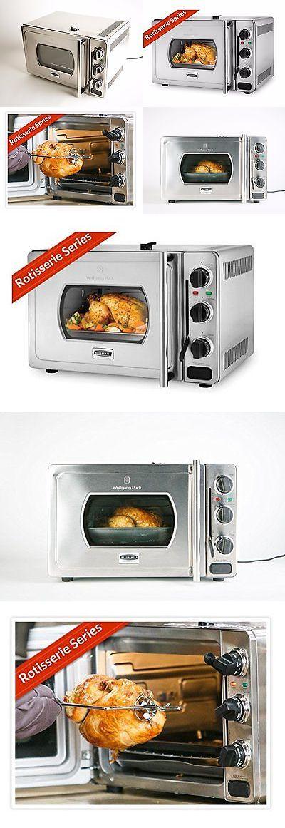 Rotisseries 134674 Wolfgang Puck Rotisserie Pressure Oven 29 Liter Stainless Steel Countertop