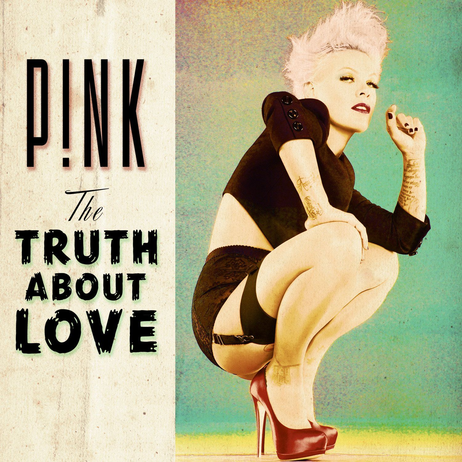 55th GRAMMY Awards - Best Pop Vocal Album Nominee.  'The Truth About Love' P!nk  Don't forget to tune into Music's Biggest Night on 2/10/13!