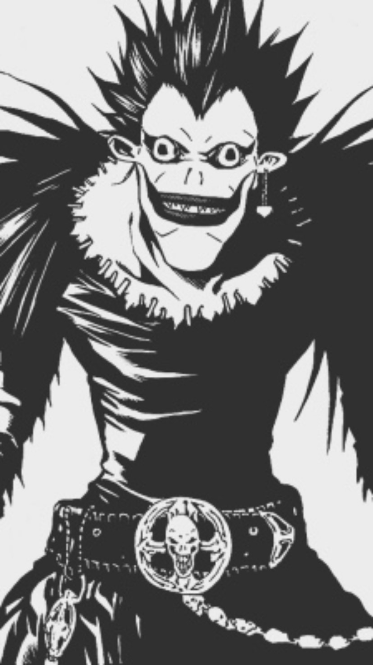 Pin by Wello on Аниме in 2020 Death note manga, Black