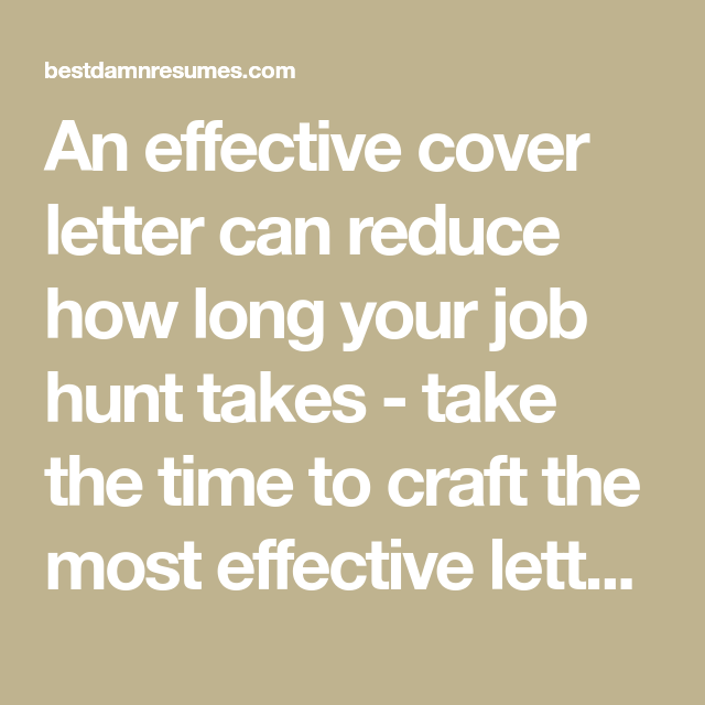5 ways to make an effective cover letter