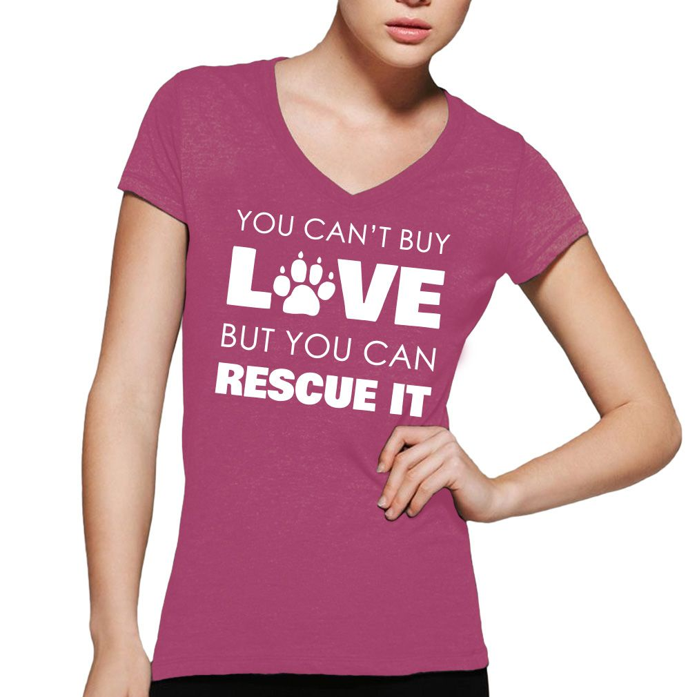 Rescue Love - You can\'t buy love, but you can rescue it! V-Neck ...