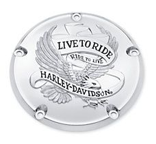 golden eagle live to ride tail light cover for harley davidson dyna models