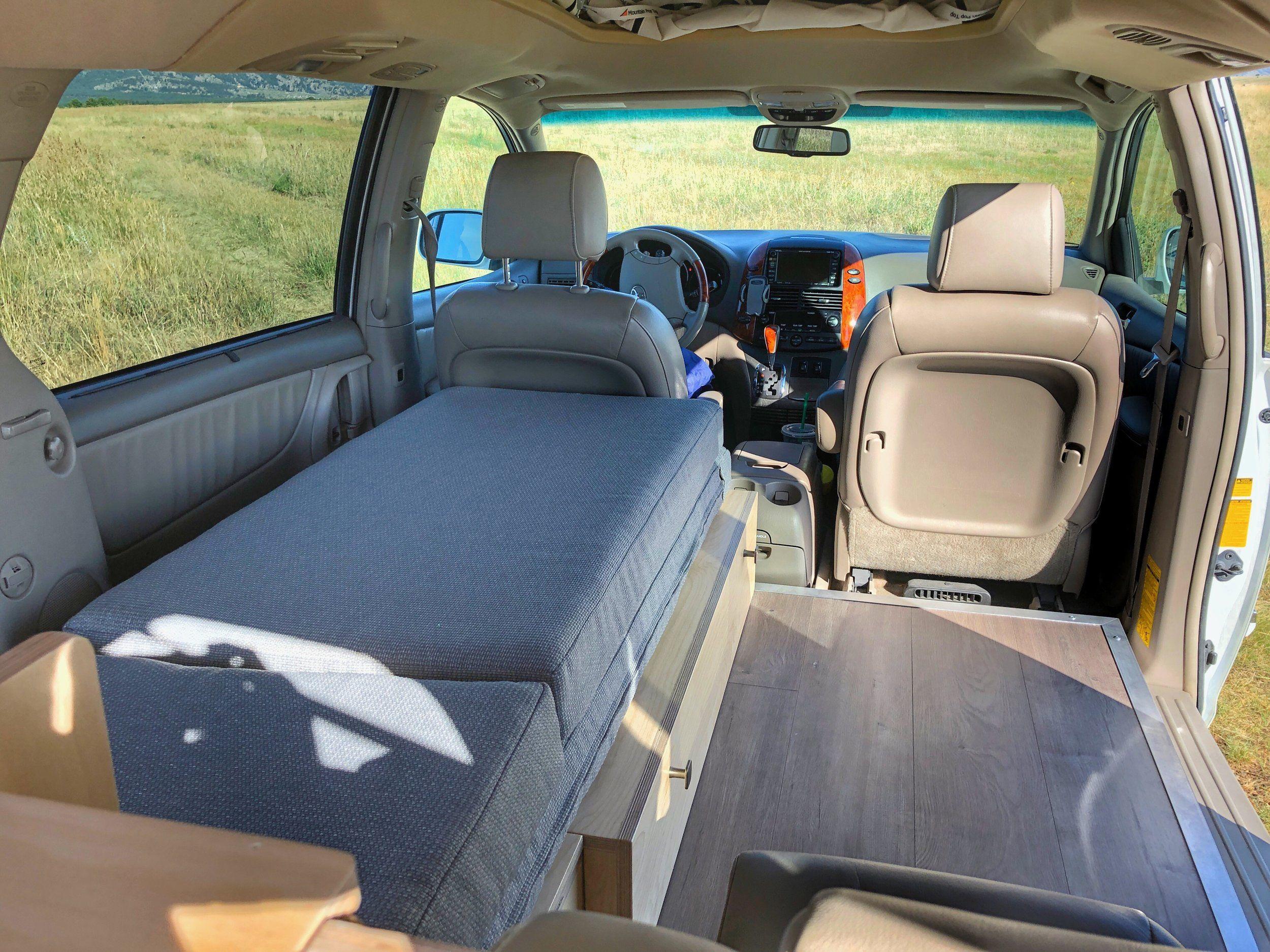 Toyota Sienna Camper Conversion Contravans Camper Conversion Minivan Camping Minivan Camper Conversion