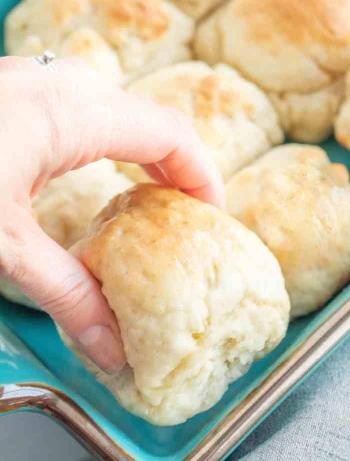 Easy Gluten Free Biscuits (dairy free option) - Li